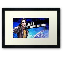 Jack The Future Handsome Framed Print
