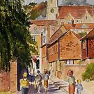 Hythe Kent, Mount street by Beatrice Cloake