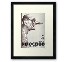 PINOCCHIO THE MOVIE (Chirac) Framed Print