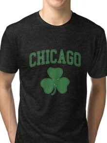 CHICAGO SHAMROCK Tri-blend T-Shirt
