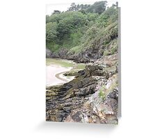 Welsh Crags Greeting Card