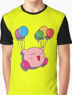 Kirby Balloons Graphic T-Shirt