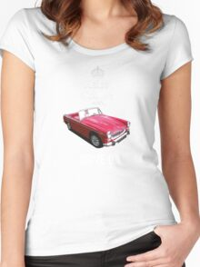 MG Midget Women's Fitted Scoop T-Shirt
