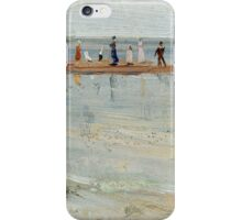 Charles Conder  - Ricketts Point, Beaumaris 1890 Seascape Marine iPhone Case/Skin