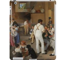 Ditlev Blunck - Danish artists at the Osteria La Gensola in Rome 1837  iPad Case/Skin