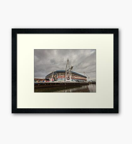 Principality Stadium Wales Framed Print