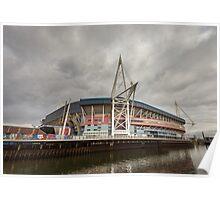 Principality Stadium Wales Poster