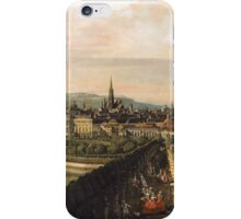 Canaletto Bernardo Bellotto - Vienna, Dominican Church 1759 - 1760 iPhone Case/Skin