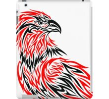 Red and black eagle iPad Case/Skin