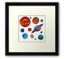 The Planets Framed Print
