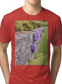 Lilac Wall Tri-blend T-Shirt