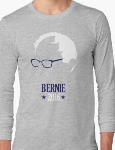 Bernie Sanders 2016 Blue Long Sleeve T-Shirt