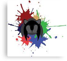 Sonic Splash Canvas Print