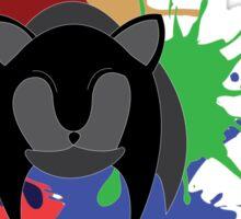 Sonic Splash Sticker