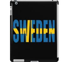 Sweden iPad Case/Skin