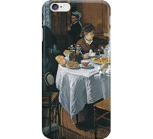 Claude Monet - The Luncheon ,Impressionism iPhone Case/Skin