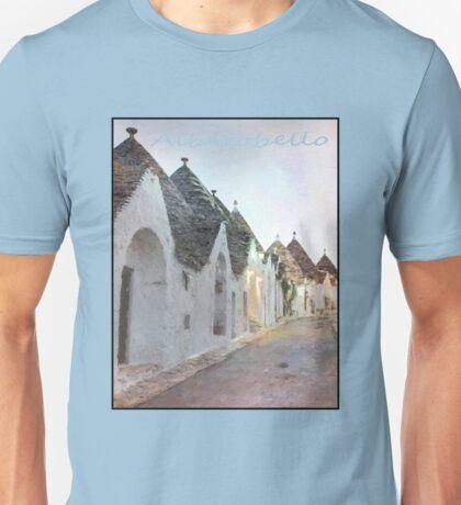 Alberobello trulli Unisex T-Shirt
