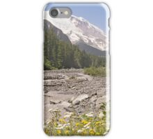 Mount Rainier from White River Campground Trail iPhone Case/Skin