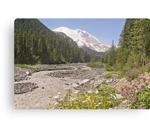 Mount Rainier from White River Campground Trail Canvas Print