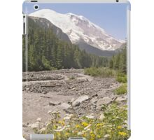 Mount Rainier from White River Campground Trail iPad Case/Skin