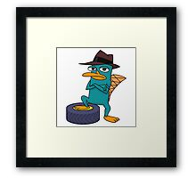 Perry Framed Print