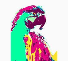 Exotic Neon Colorful Parrot Bird Unisex T-Shirt