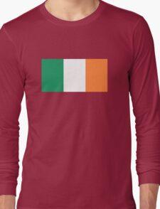 Irish Flag Long Sleeve T-Shirt