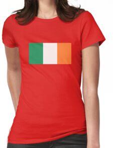 Irish Flag Womens Fitted T-Shirt