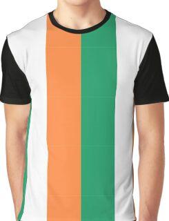 Irish Flag Graphic T-Shirt