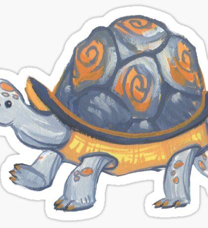 teeny weeny tortoise Sticker