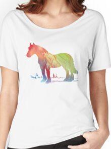 Horse portrait Women's Relaxed Fit T-Shirt