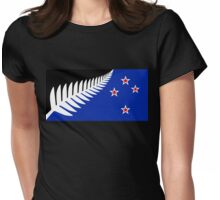 Proposed new national flag design for New Zealand Womens Fitted T-Shirt