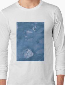 Open Screen Print Surface Graphic Long Sleeve T-Shirt