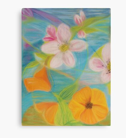 May Blossoms Canvas Print