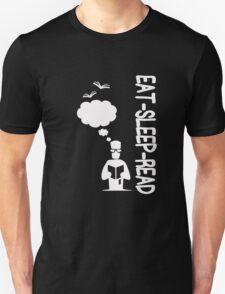 Eat Sleep Read Unisex T-Shirt