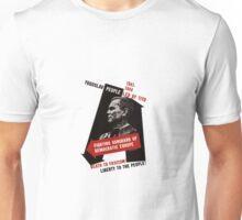 Death To Fascism! Vintage Yugoslav WW2 Poster Unisex T-Shirt