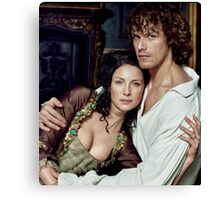 Love in Outlander Canvas Print