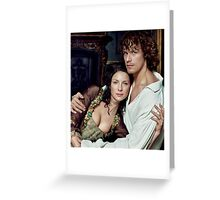 Love in Outlander Greeting Card