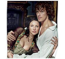 Love in Outlander Poster