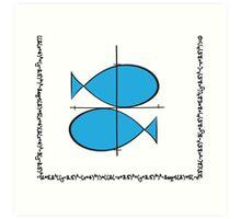 Geek zodiac: Pisces  Art Print