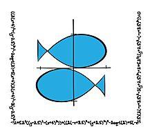 Geek zodiac: Pisces  Photographic Print