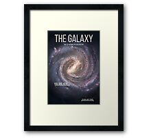 THE GALAXY⎜SPACE⎜TIME⎜SCIENCE Framed Print