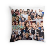 Impractical Jokers Collage (Pillow and Tote Bag) Throw Pillow