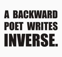 Poet Writes Inverse One Piece - Long Sleeve
