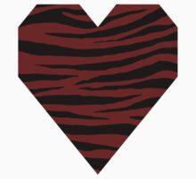 0253 Falu Red Tiger Baby Tee