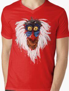 Rafiki-The Lion King Mens V-Neck T-Shirt