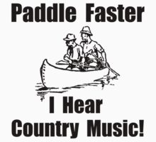Paddle Faster Country Music One Piece - Short Sleeve