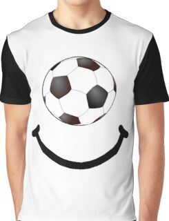 Soccer Smile Graphic T-Shirt