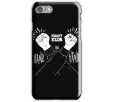 Kraftklub Hand in Hand iPhone Case/Skin