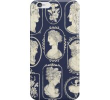 Cameos - blue iPhone Case/Skin